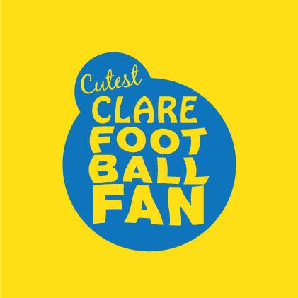 Cutest Clare Football Fan baby cloth
