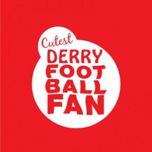 Cutest Derry Football baby cloth
