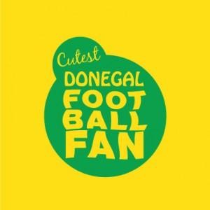 Cutest Donegal Football Fan baby cloth