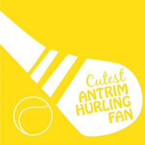 Cutest Antrim Hurling Fan Baby Cloth