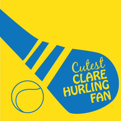 Cutest Clare Hurling Baby cloth