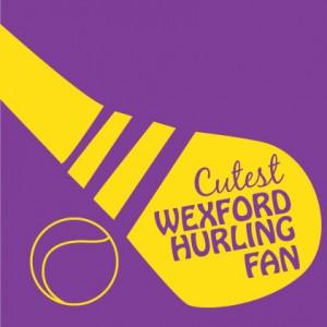Cutest Wexford Hurling Fan Baby cloth