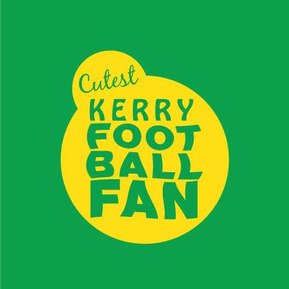 Cutest Kerry Football Fan Baby cloth