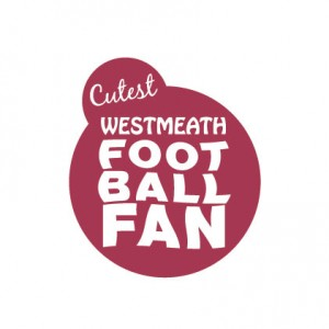 Cutest Westmeath Football Fan Baby Cloth