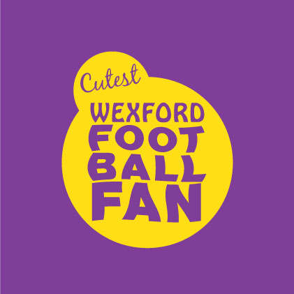 Cutest Wexford Football Fan baby cloth