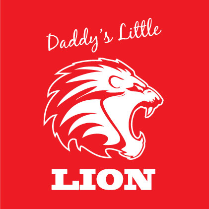 Daddy's Little Lion baby gifts