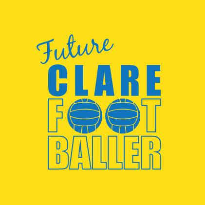 Future Clare Footballer baby cloth