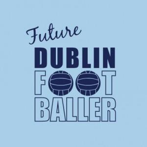 Future Dublin Footballer baby cloth