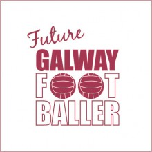 Future Galway Footballer baby cloth
