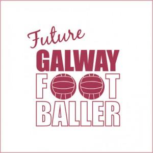 Future Galway Footballer baby cloth