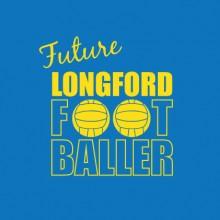 Future Footballer Longford baby cloth