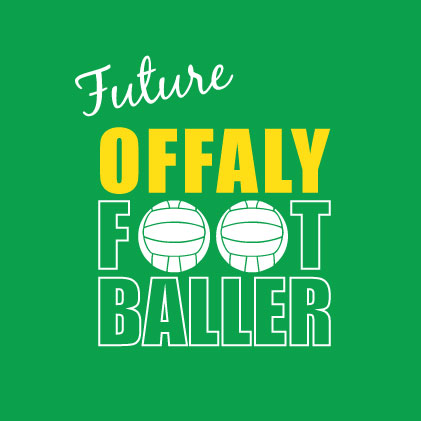 Future Offaly Footballer baby cloth