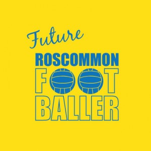 Future Footballer ROSCOMMON baby cloth
