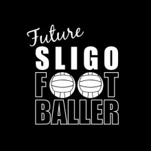 Future Footballer Sligo Baby cloth