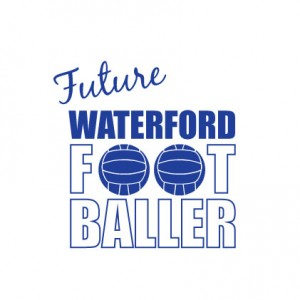 Future Waterford Footballer baby cloth