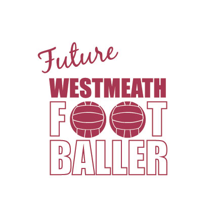 Future Footballer Westmeath Baby Cloth