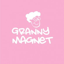 Granny Magnet baby cloth