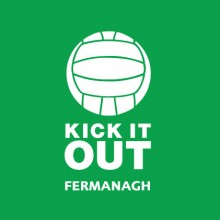 Kick It Out Fermanagh baby cloth