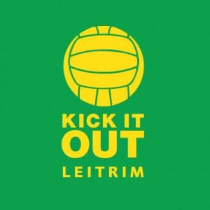 Kick It Out Leitrim baby cloth