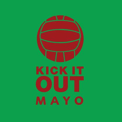 Kick it out Mayo GAA baby cloth