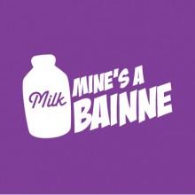 Mine's A Bainne baby cloth