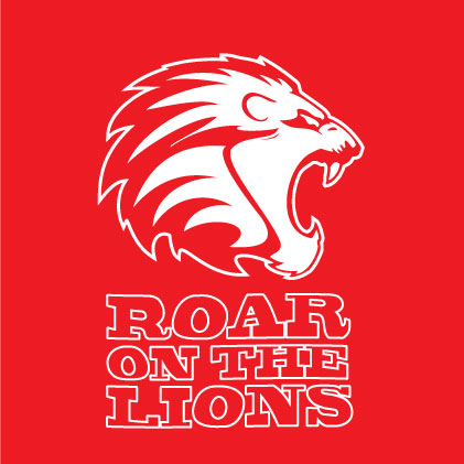 Roar On The Lions baby cloth