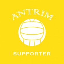 Antrim Supporter baby cloth