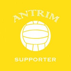 Antrim Supporter baby cloth