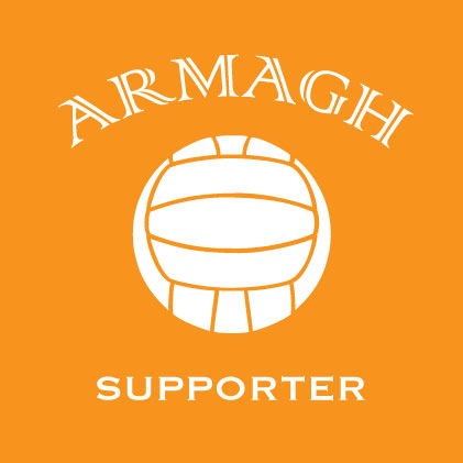 Armagh football supporter baby cloth