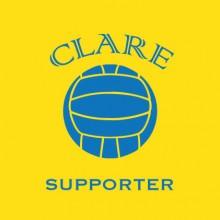 Clare Football Supporter baby cloth