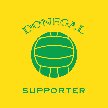 Donegal Football Supporter baby cloth
