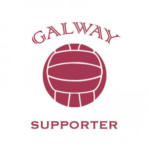 Galway Football Supporter baby cloth