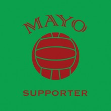Mayo Supporter GAA baby cloth