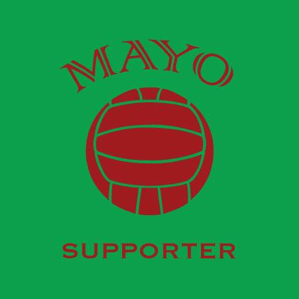 Mayo Supporter GAA baby cloth