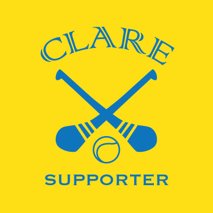 Clare Hurling Supporter Baby cloth