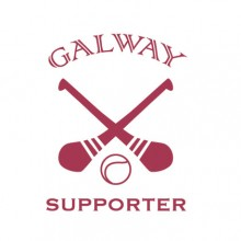 Galway Hurling Supporter baby cloth