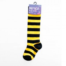 Black & Gold Baby Socks