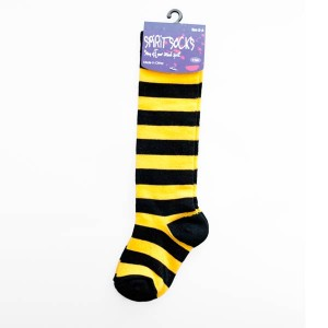 Black & Gold Baby Socks