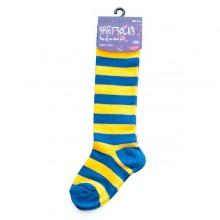Blue & Gold Baby Socks