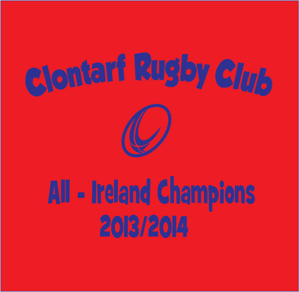 personalised baby clothes rugby all ireland champions clontarf