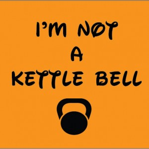 i'm not a kettle bell crossfit personalised baby clothes
