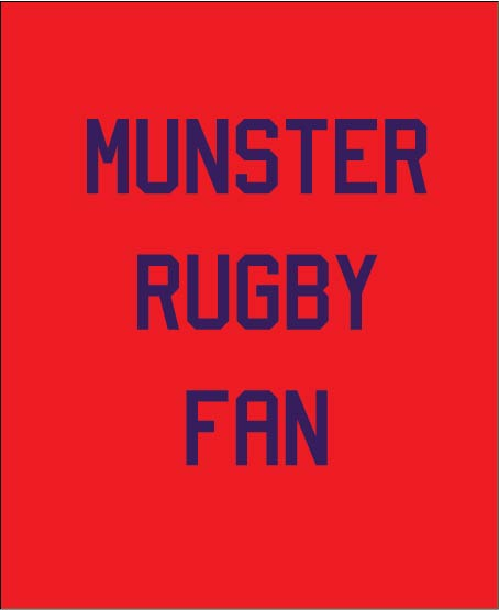 Munster Rugby Fan baby gifts
