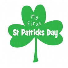my first st. patricks day baby clothes gifts
