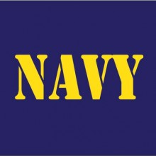 Navy baby cloth