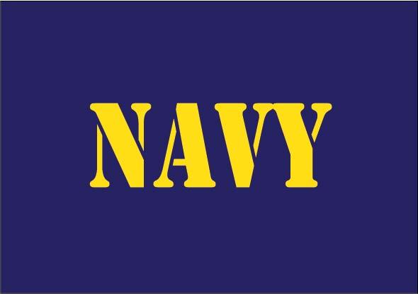 Navy baby cloth