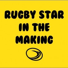 Rugby Star in Making