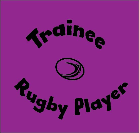 Trainee Rugby Player