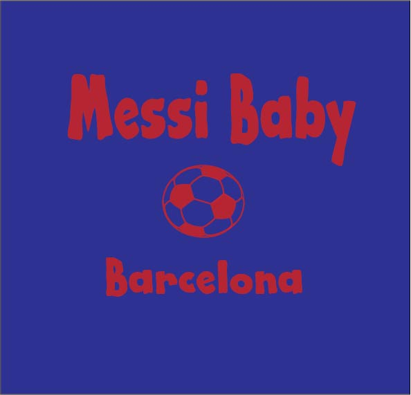 messi baby clothes personalised