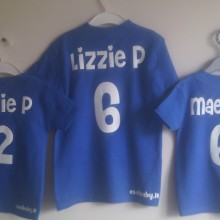 3 Personalised t shirts