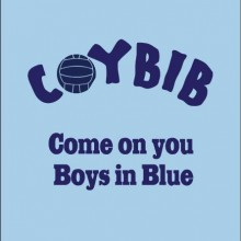 COYBIB Dublin come on you boys in blue personalised baby clothes